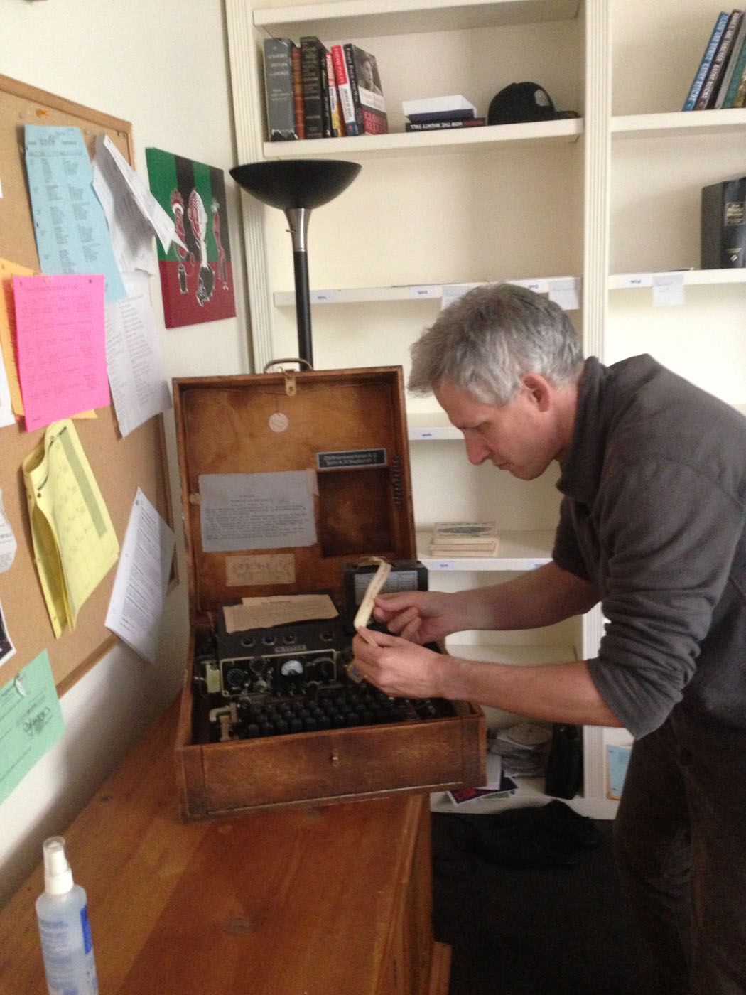 Jon Collier and his Enigma Machine