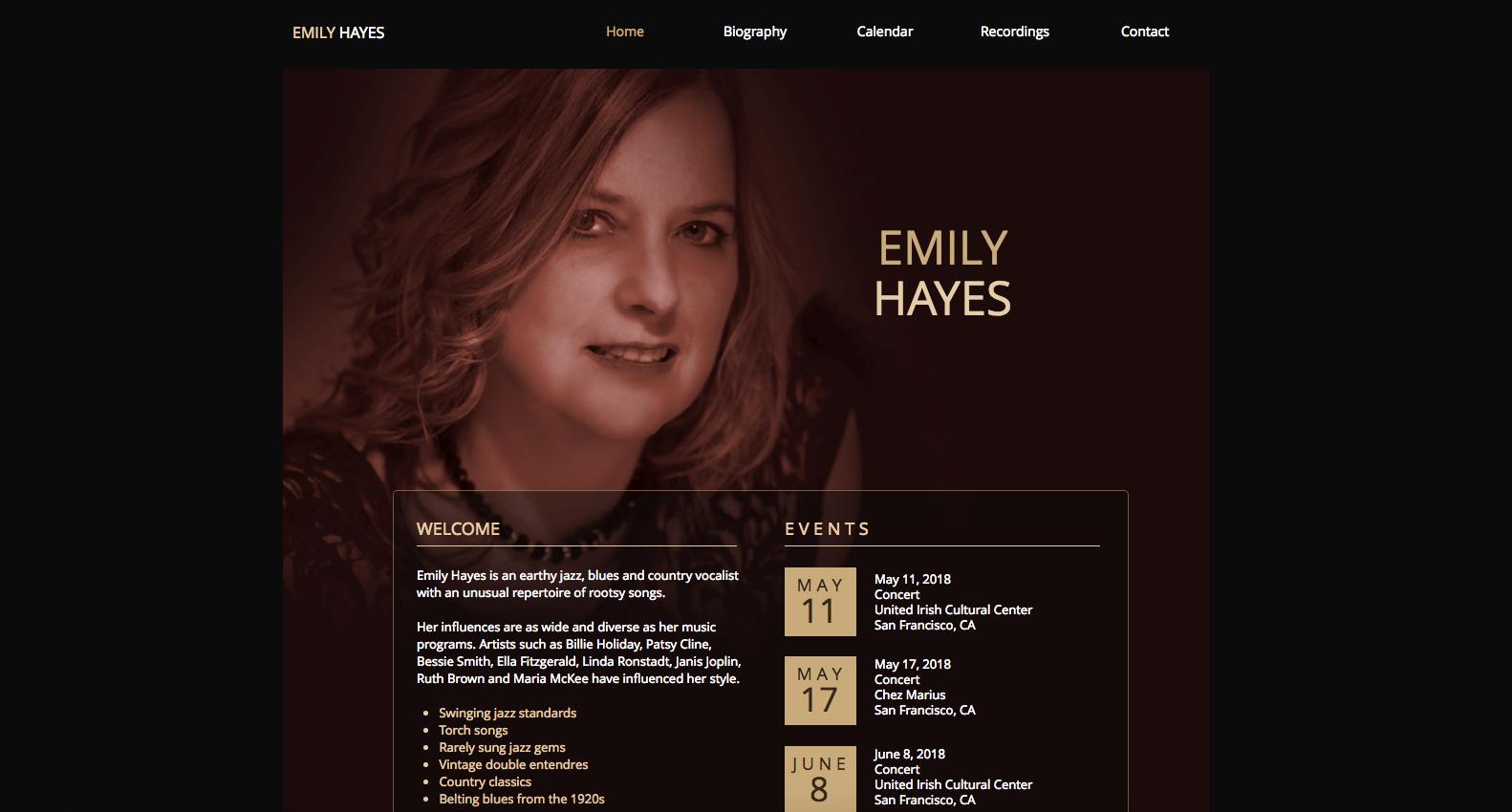 Emily Hayes Music
