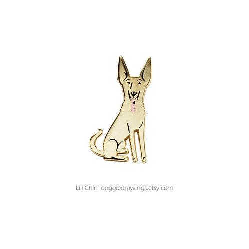 FORMOSAN MOUNTAIN DOG (Tan) Pin