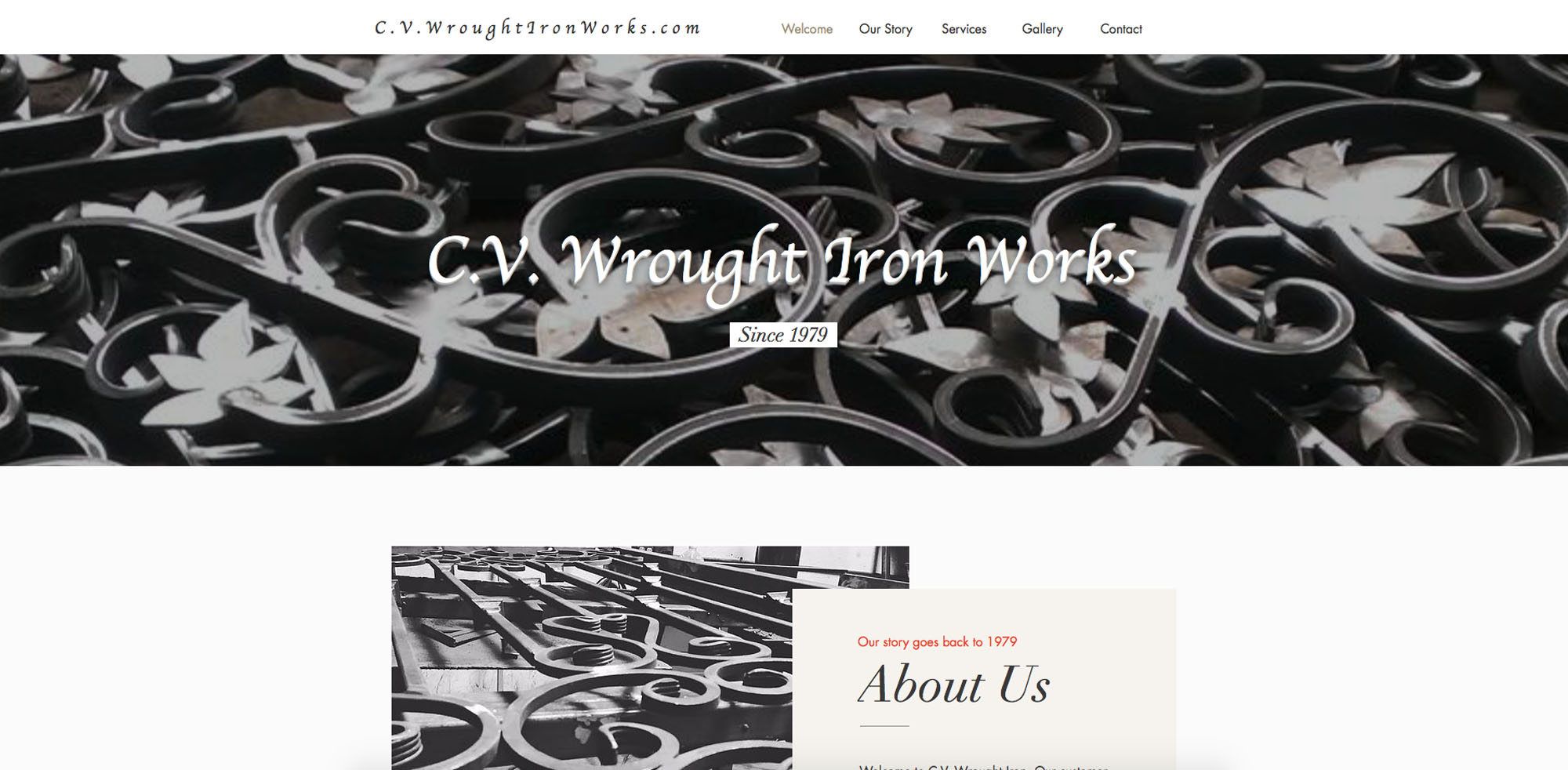 CV Wrought Iron