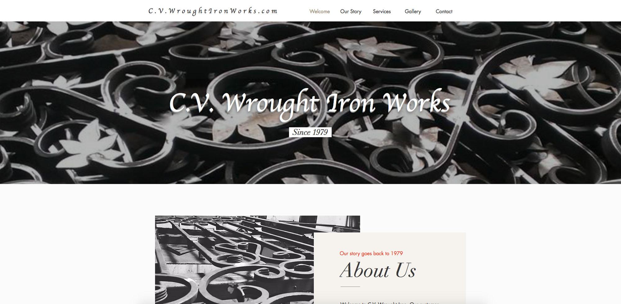 CV Wrought Iron