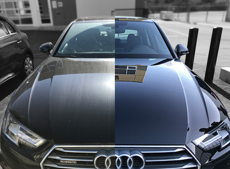 Are there risks in applying a ceramic coating?