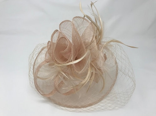 Fascinator with net