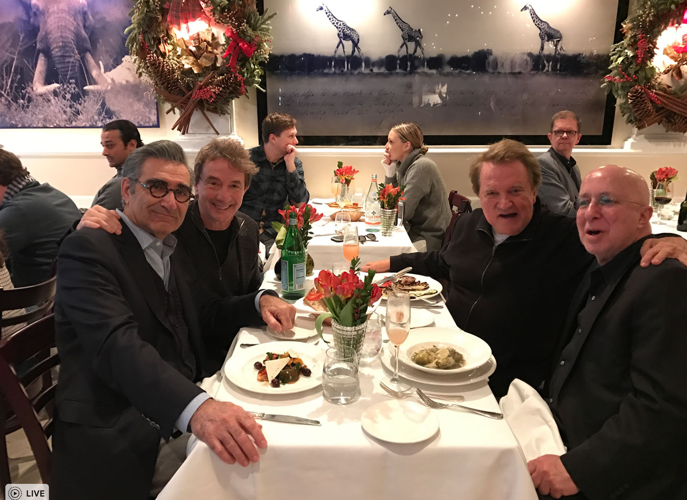 with Eugene, Marty and Paul NYC 2018