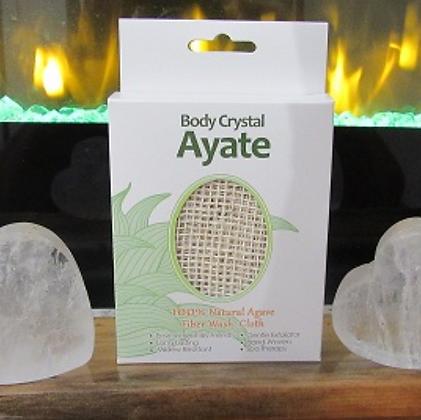 3 pack Ayate Wash Cloth Boxed