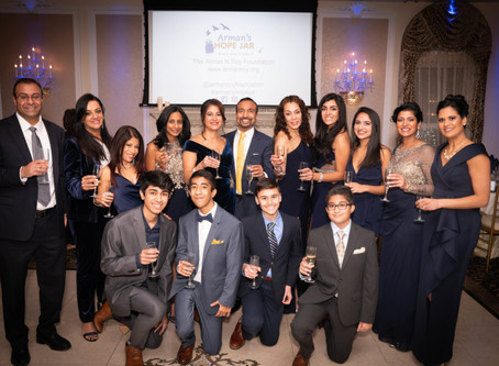 An evening of 'crazy love' and charity for the Arman N. Roy Foundation