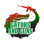 Gators and Guns Logo_with white glow and