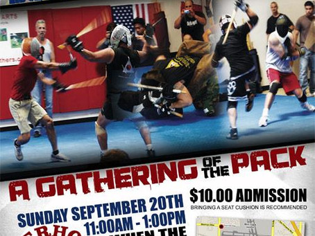"Eric the Trainer is proud to sponsor ""A Gathering of the Pack"". Come out and experience the coolest"