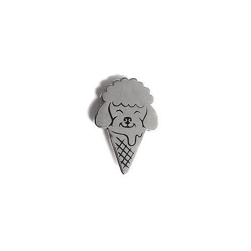 POODLE Ice Cream Pin