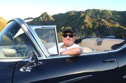 California Dreamin' in my 57 Caddy