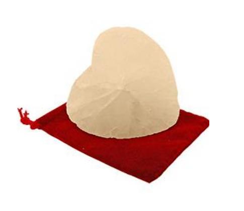 Crystal Stone Deodorant Heart Shaped
