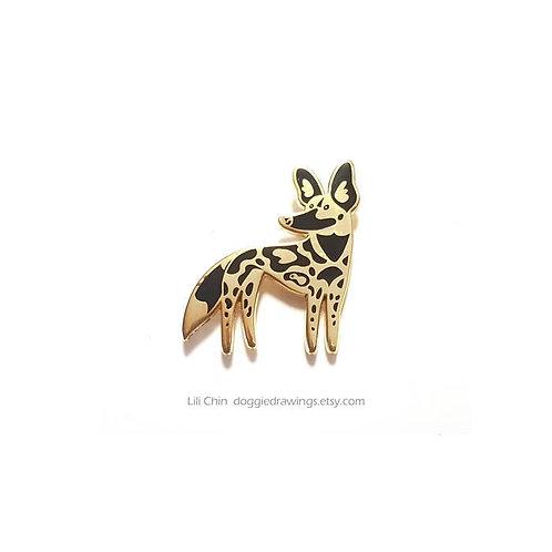 AFRICAN WILD DOG Pin