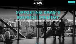 Quid / KPMG Landing Page