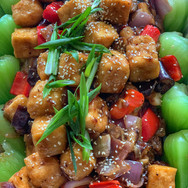 Eggplant Tofu Vegetable