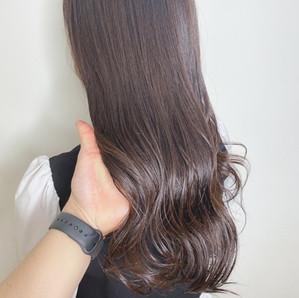 ●中出 【こっくりまろベージュ】で艶のある髪に♡