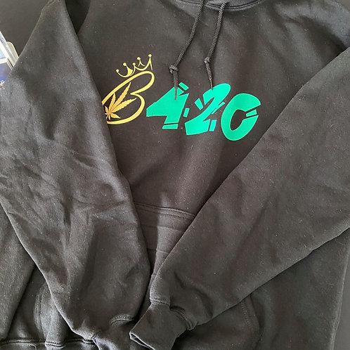 B Inspired 420 Hoodie
