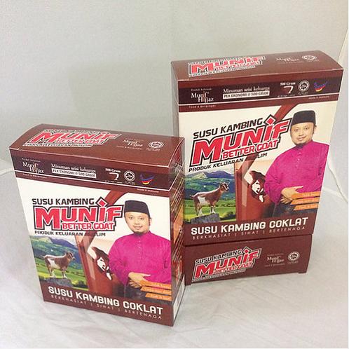 Susu Kambing Coklat Munif - Better Goat