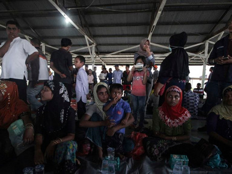 Rohingya Rescued After Drifting At Sea For 9 Days