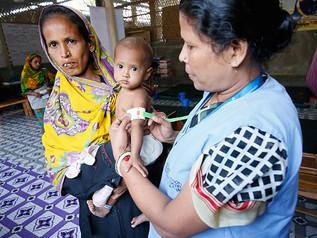 Rohingya Refugees Under Health Crisis