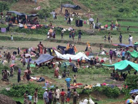 Myanmar's BGP Asks Rohingyas At Tombru To Leave No-Man's land