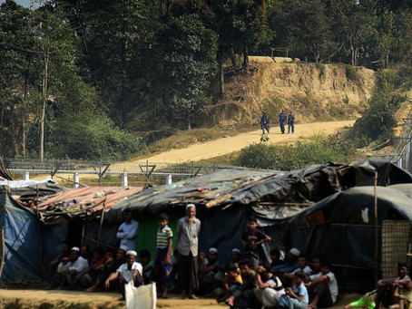 Roofs Blown Away By Heavy Rain, 6000 Rohingya Left Unprotected