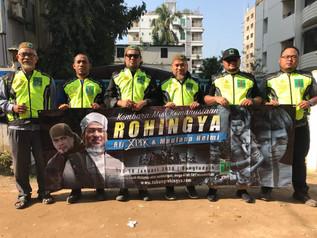Agamawan, Artis Bersatu Turun Lapangan Bantu Kempen #SaveRohingya