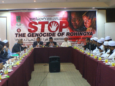 The Asean Ulama & NGOs Declaration on The Myanmar Geniocide of Rohingya