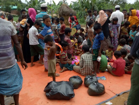 Rohingya; Update from Naf Riverside, Bangladesh