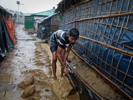 Kem Pelarian Rohingya Bakal Hanyut
