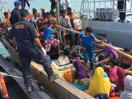 Bot Bawa 60 Pelarian Rohingya Dipintas