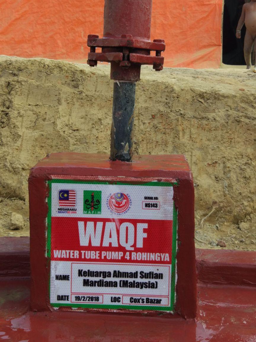Wakaf-Tubewell-Rohingya-33