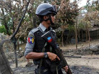 Myanmar Police Opens Fire On Demonstrators Killing Many