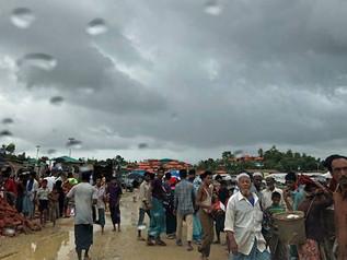 Sudahlah Menjadi Pelarian, Kini Diancam Banjir Dan Tanah Runtuh Pula