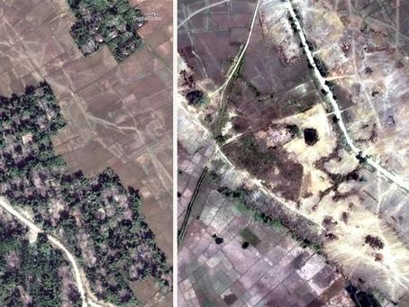 Myanmar Accused Of 'Bulldozing' Proof Of Crimes Against Rohingya
