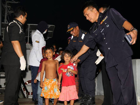 56 Pelarian Rohingya Ditahan Di Belantik