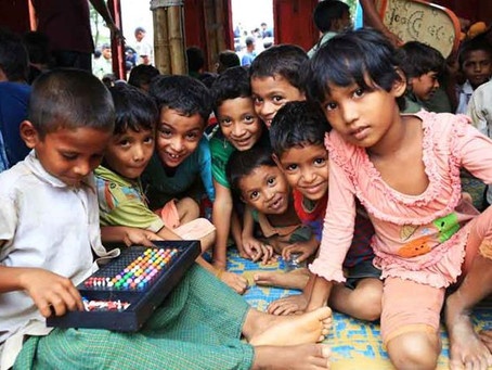 Rohingya : 500,000 Unlikely to Receive Schooling in 2018