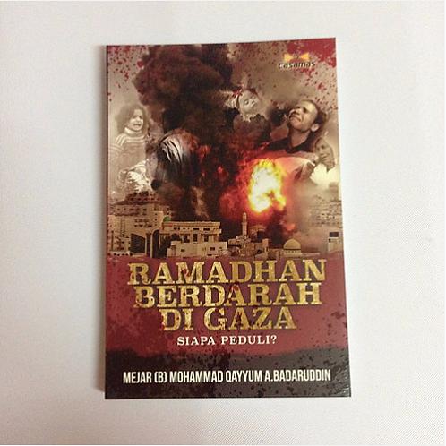 """Buku """"Ramadhan Berdarah Di Gaza, Siapa Peduli?"""