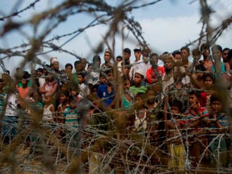 Pengawal Sempadan Myanmar Tembak Budak Rohingya