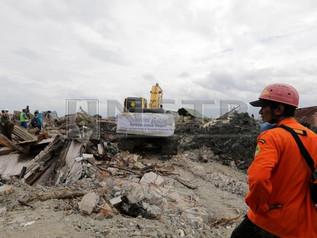 Operasi Mencari Mangsa Gempa, Tsunami Tamat