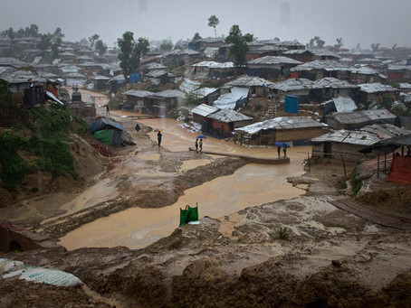 Monsoon Season Threatens Rohingya Refugees In Bangladesh