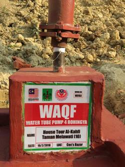 Wakaf-Tubewell-Rohingya