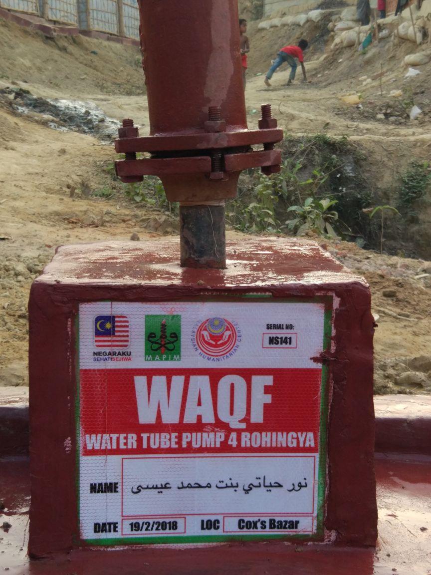 Wakaf-Tubewell-Rohingya-43