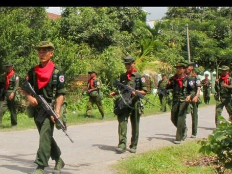 Buthidaung: Burmese Forces Fire Gunshots