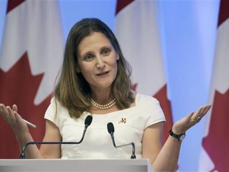 Kanada Sedia Terima Pelarian Rohingya