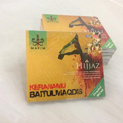 CD Lagu Hijjaz - Keranamu Baitul Maqdis