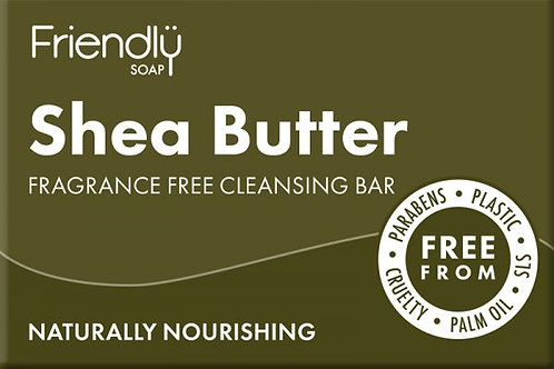 Friendly Soap Fragrance Free Cleansing Bar 95g