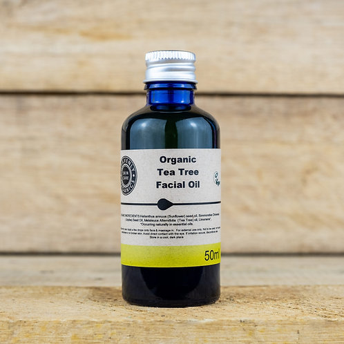 Heavenly Organics Tea Tree Facial Oil 50ml