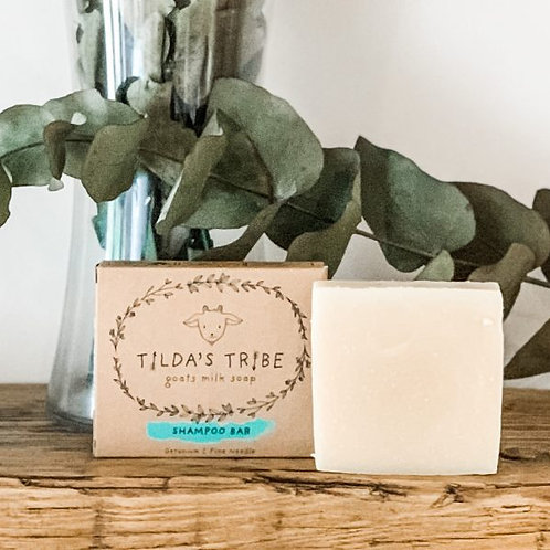 Tilda's Tribe Shampoo Goats' Milk Soap 100g