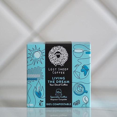 Lost Sheep compostable coffee capsules - Living the Dream x 10
