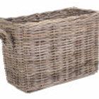 Large Rattan Boot Room Basket